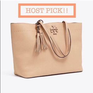 ✨HOST PICK!✨ Tory Burch Mcgraw Large Tote
